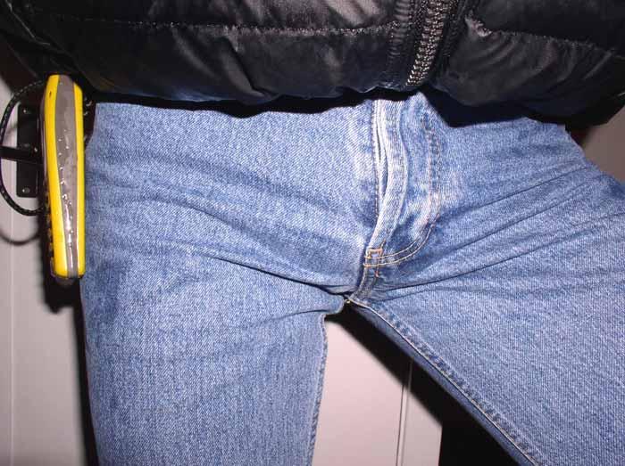 Мой член выпирает из брюк